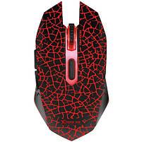 Набор геймера: проводная игровая клавиатура и геймерская мышь XTRIKE ME MK-503 с подсветкой, черные, фото 3