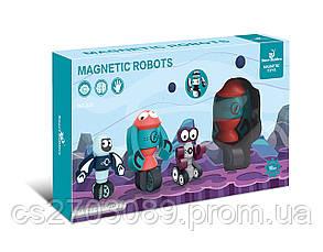 Конструктор магнитный робот, 21 дет, фото 2