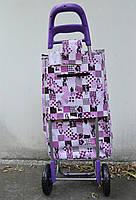 Тачка сумка двухколесная кравчучка металл 94см Stenson MH-2784 Girls, фото 3