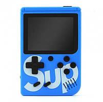 Игровая консоль синяя с красным с джойстиком MHZ GAME SUP 6927, 400 восьмибитных игр, фото 2