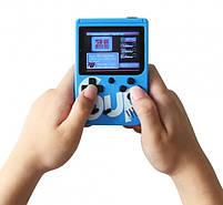 Игровая консоль синяя с красным с джойстиком MHZ GAME SUP 6927, 400 восьмибитных игр, фото 3