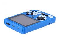 Игровая консоль синяя с красным с джойстиком MHZ GAME SUP 6927, 400 восьмибитных игр, фото 4