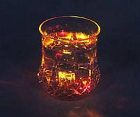 Стакан с подсветкой MHZ FLASH CUP 7104, пластиковый, прозрачный, фото 2