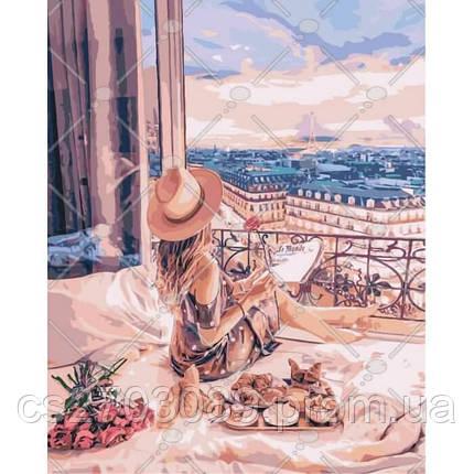"""Картина по номерам """"Отдых в Париже"""" 40*50, фото 2"""