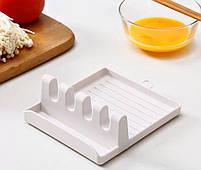 Подставка-держатель для кухонной утвари MHZ 7241 пластиковая, белая, фото 2