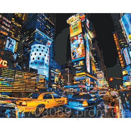 "Картина по номерам ""Вулицями Нью Йорка 2"" 40*50, фото 2"
