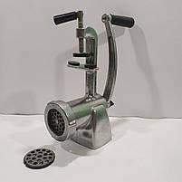 Мясорубка ручная алюминиевая МА-С полированная, фото 4