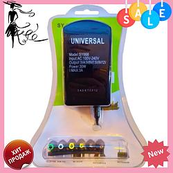 Зарядное устройство универсальное 220V SY-668 30W | Адаптер блок питания