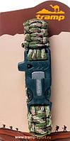 Браслет для выживания из паракорда Tramp TRA-232 со свистком и огнивом, хаки, фото 2