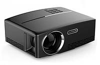 Проектор для дома портативный мультимедийный MHZ Led Projector BYINTEK SKY GP80, черный