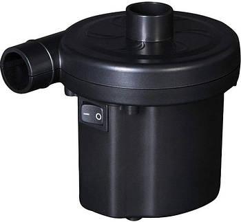 Насос электрический для матраса, бессейна, надувной мебели, лодки, мяча Bestway 62097 12V, черный