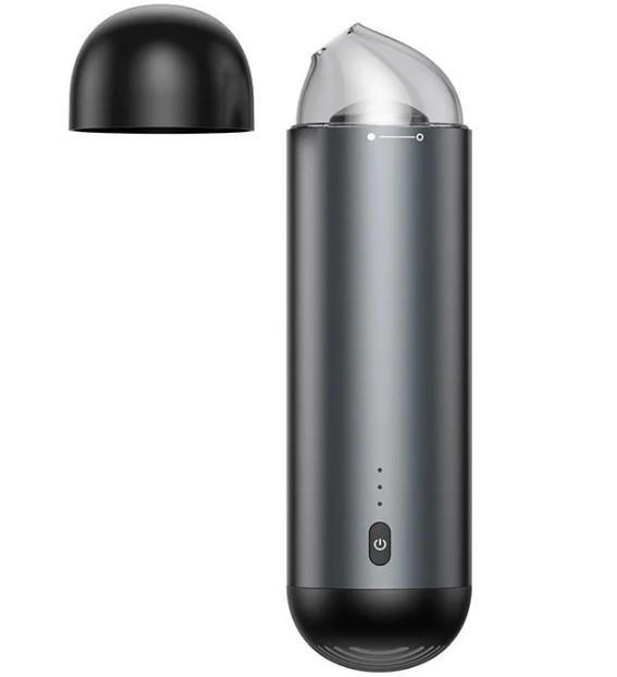 Автомобильный пылесос BASEUS Capsule Cordless Vacuum Cleaner ручной, аккумуляторный, черный