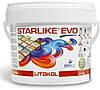 Litokol Starlike EVO 113 НЕЙТРАЛЬНЫЙ 2,5 кг - эпоксидная двухкомпонентная затирка, фото 2
