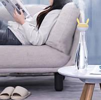 Увлажнитель воздуха портативный Baseus Magic Wand Portable Humidifier 6-12h, 40mL/h, белый с желтым, фото 5