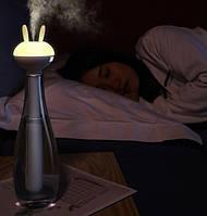 Увлажнитель воздуха портативный Baseus Magic Wand Portable Humidifier 6-12h, 40mL/h, белый с желтым, фото 7