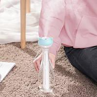 Увлажнитель для воздуха Baseus Magic Wand Portable Humidifier 6-12h, 40mL/h, портативный, белый с зеленым, фото 8