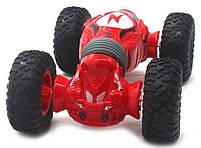 Трюковая машина-перевертыш на радиоуправлении MHZ J3255, красная, фото 2