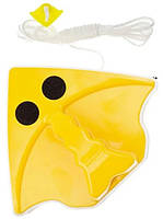 Магнитная щетка для мытья окон с двух сторон MHZ Glass Wiper 7198, желтая, фото 3