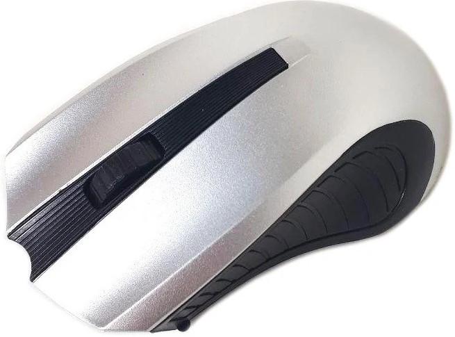 Мышка беспроводная Zeus M-220, оптическая, серая