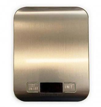 Электронные кухонные весы на 10 кг Domotec MS-33, металлические