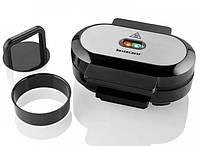 Контактный гриль, бургер мейкер Silver Crest SBM 800 A1, антипригарное покрытие, черный с серым