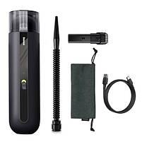 Автомобильный пылесос аккумуляторный BASEUS A2, 2 насадки, черный, фото 3