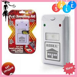 Отпугиватель грызунов и насекомых Riddex Plus Pest Repelling Aid   Электронный кот от грызунов