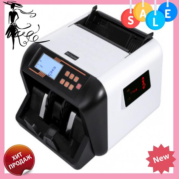 Рахункова машинка з детектором валют Bill Counter 555MG | Машинка для рахунку грошей