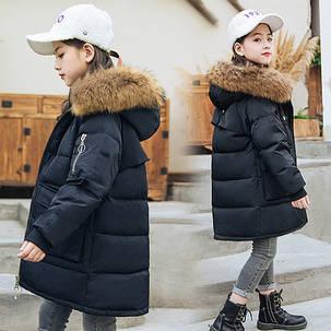 Теплая зимняя курточка на девочку, фото 2