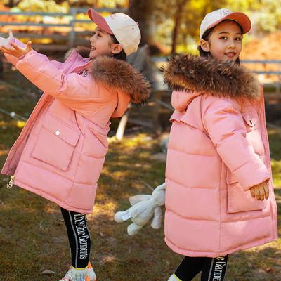 Теплая зимняя курточка на девочку