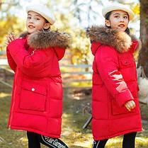 Теплая зимняя курточка на девочку, фото 3