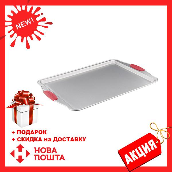 Деко для запекания Vinzer 89487 прямоугольное (38 см) | форма для выпечки Винзер | противень с ручками