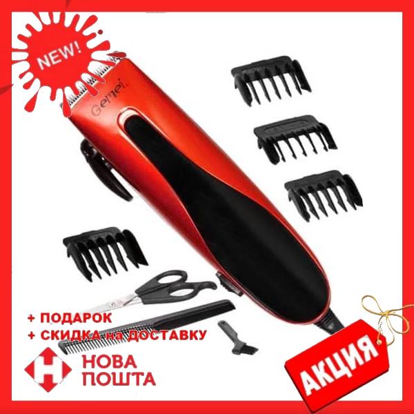 Машинка для стрижки волосся Gemei GM-1012 професійна   триммер для волосся
