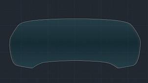 Захисне гібридне скло на приладову панель без камери MATT BMW X5 / X5M 2019 (G05)