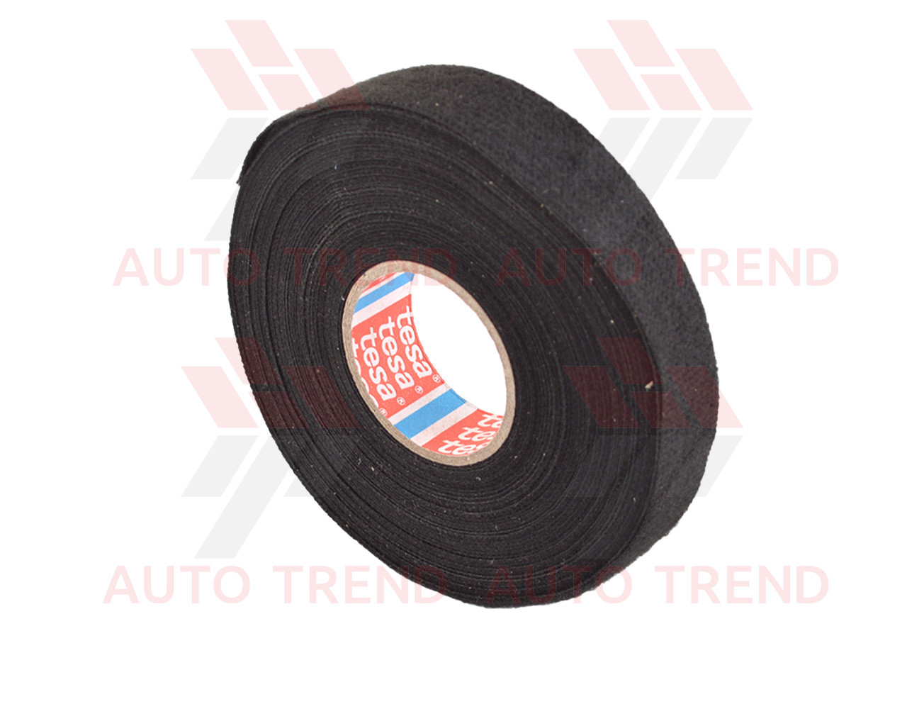 """Изолента тканевая """"Tesa"""", 19мм, черная 10м (антискрип)"""