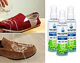 Водоотталкивающиее засіб для взуття Аквафоб/Спрей для захисту взуття Aquaphob/ Пропитка для взуття, фото 2