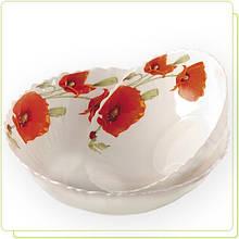 """Миска салатная тарелка глубокая 22,5см """" Маки 2 """" (только по 6 штук)"""