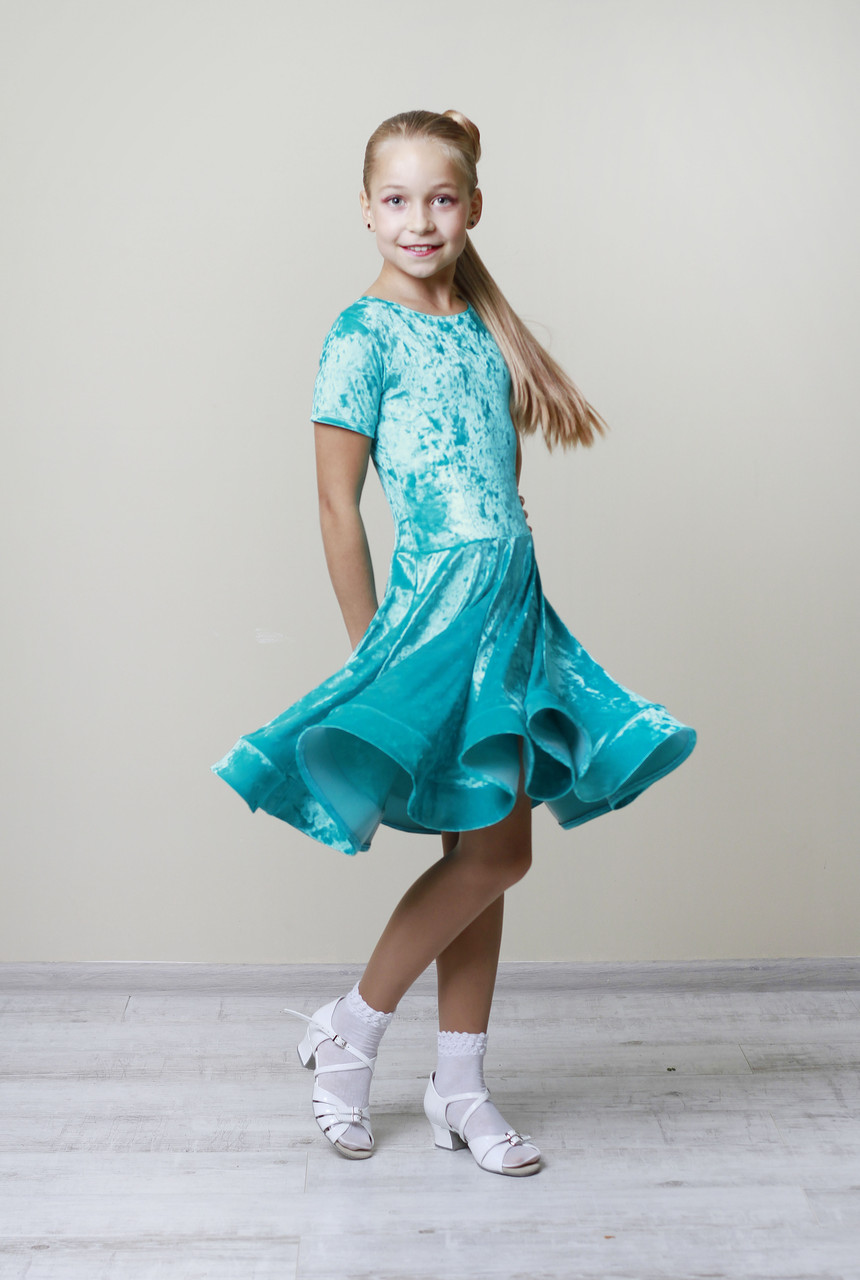 Рейтинговое платье Бейсик для бальных танцев Sevenstore 9152
