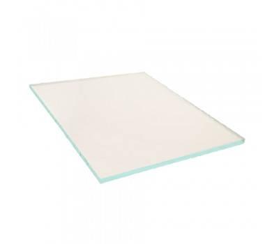 Защитное стекло прозрачное 90х110 мм, фото 2