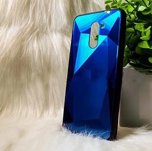 "Чохол Xiaomi Pocofone F1 ""Rock 3D"" Синій (blue)"