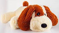 Мягкая игрушка собака 75 см персиковый