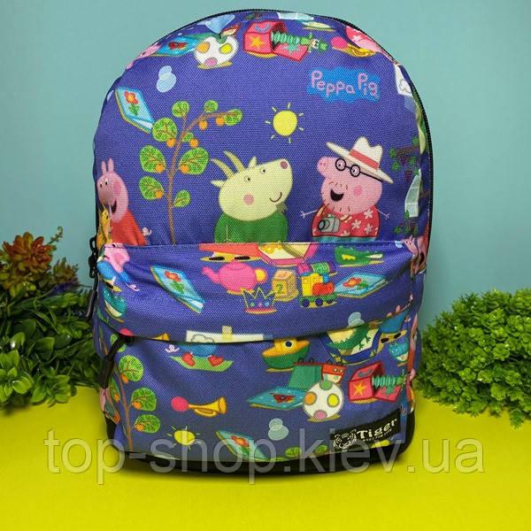 Детский рюкзак для мальчика и девочки Свинка Пеппа
