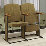 Крісло для актового залу м'яке секційне УНІВЕРСАЛ, фото 5