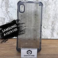 Пластиковий чохол для Samsung A10 / M10 / A105F / M105F HoneyComb, фото 1