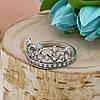 Серебряное кольцо Корона размер 19 белые фианиты вес 2.78 г, фото 4