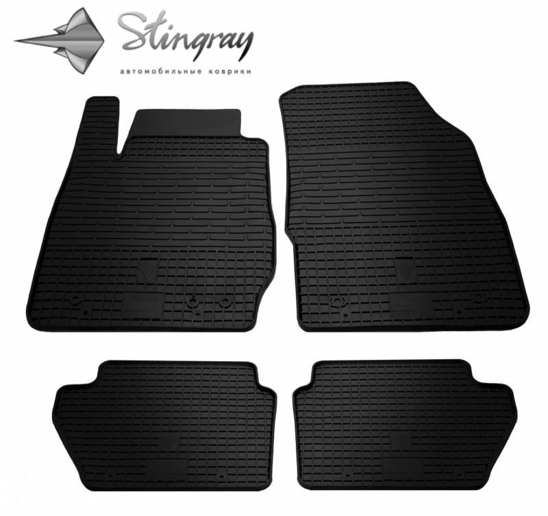 Коврики в салон Ford Fiesta 2013-2017 / резиновые коврики Stingray