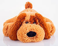 Мягкая игрушка собака 55 см медовый