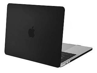 Чехол STR Matte Hard Shell Case for MacBook Pro 16 (2019 -2020) - Black