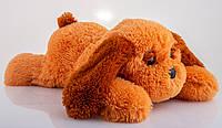 Плюшевая собака Тузик 50 см медовый, фото 1
