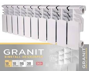 Биметаллический секционныйрадиатор отопления GRANIT 200/96
